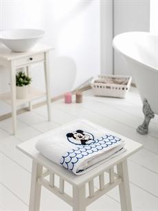 Beyaz Mickey Mouse Yüz Havlusu 8SD779Z8 LC Waikiki