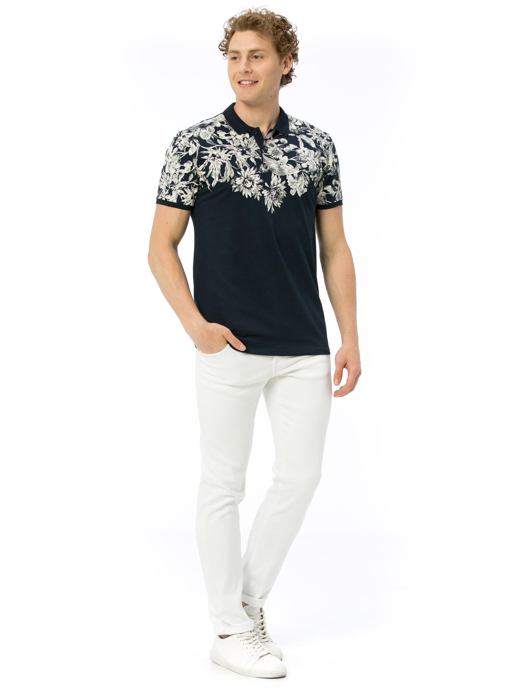 708fe47d2228b5 Skinny T-Shirt -8SD039Z8-J2Y - LC Waikiki