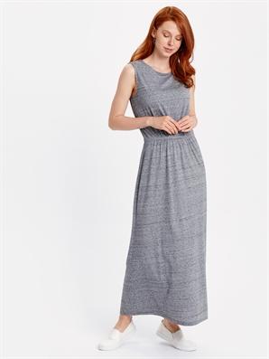 1432ac100d8d8 Beli Lastikli Uzun Elbise -8SE214Z8-355 - LC Waikiki