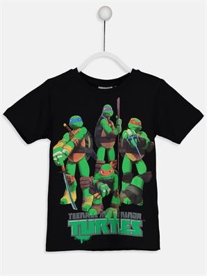 Ninja Kaplumbağalar Pamuklu Tişört 8s9012z4 Cvl Lc Waikiki