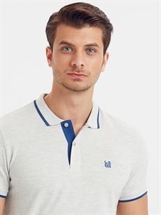 %69 Pamuk %31 Polyester Polo Yaka Kısa Kollu Pike Tişört