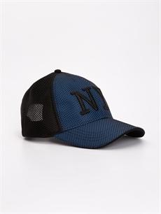 Siyah Nakış Yazı İşlemeli Şapka 9S4189Z8 LC Waikiki