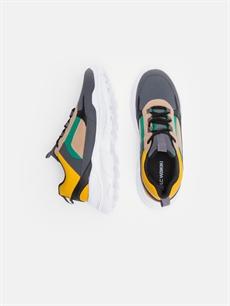 Tekstil malzemeleri Diğer malzeme (pvc) Ayakkabı Erkek Kontrast Renkli Spor Ayakkabı