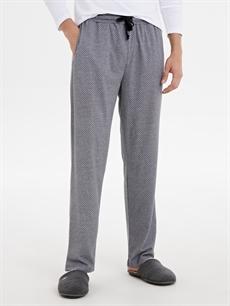 Standart Pijamalar Standart Kalıp Desenli Pijama Alt