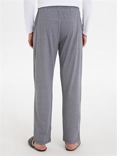 Erkek Standart Kalıp Desenli Pijama Alt