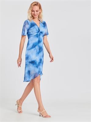 Batik Desenli Şifon Elbise Lc Waikiki Lcw 9sr890z8 – Lqk – Açik Mavi Baskil – 99.99 TL