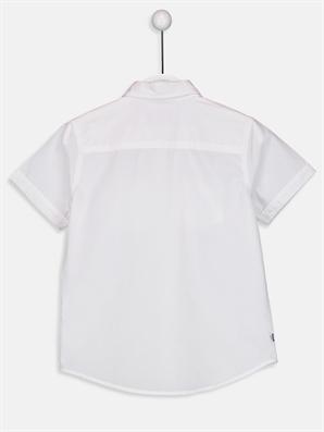 Erkek Çocuk Kısa Kollu Poplin Gömlek -9S0403Z4-JYX