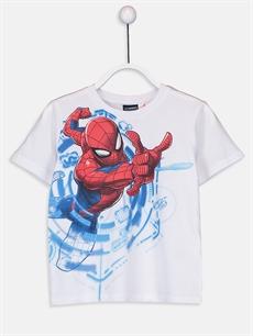 Erkek Çocuk Erkek Çocuk Spiderman Tişört ve Şort