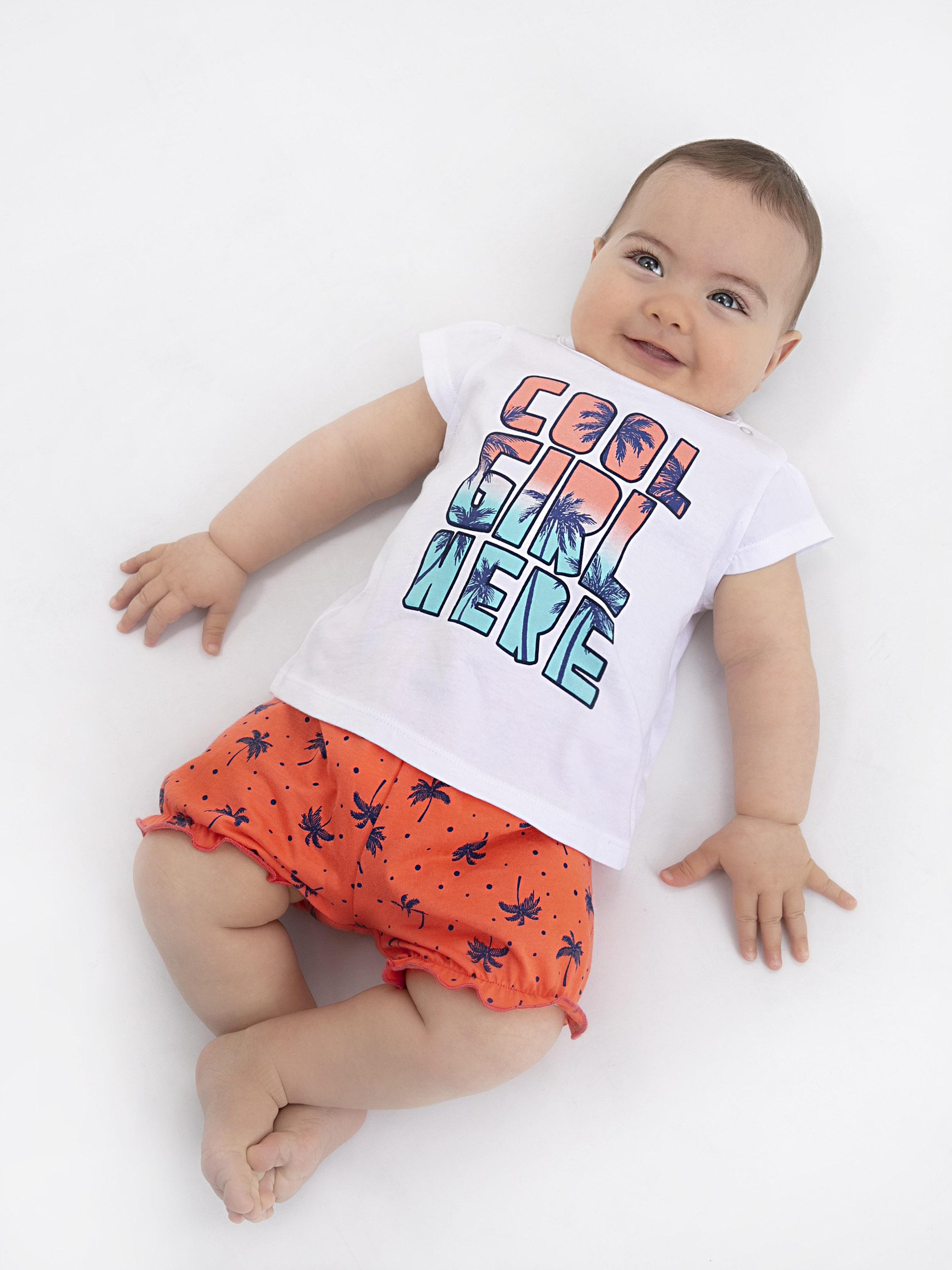 Kız Bebek Pijama Takımı -9SO753Z1-FFB