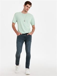 Yeşil 760 Skinny Fit Jean Pantolon 9W3655Z8 LC Waikiki
