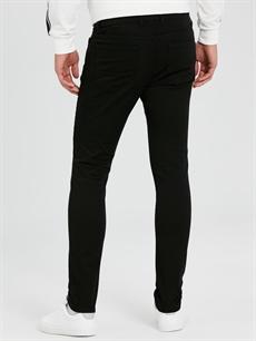Erkek Skinny Fit Bilek Boy Gabardin Pantolon