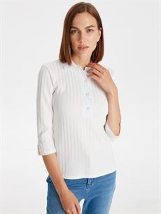 Standart Tişört Polo Polo Yaka Esnek Tişört