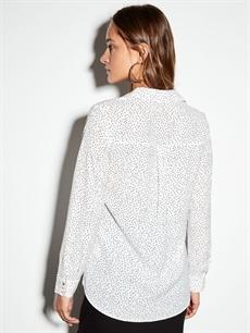 %100 Polyester Krep Gömlek