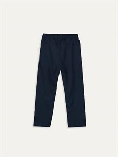 %100 Polyester %100 Polyester Bol Normal Bel Erkek Çocuk Beli Lastikli Pantolon