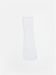Beyaz Kız Çocuk Külotlu Çorap 9W2255Z4 LC Waikiki