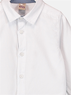 Beyaz Erkek Bebek Dokuma Takım 3'lü