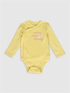 Kız Bebek Yenidoğan Çıtçıtlı Body 2'li