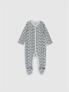 Erkek Bebek Desenli Tulum 2'li