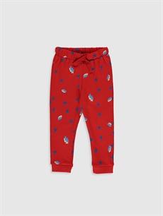 Mavi Erkek Bebek Baskılı Jogger Pantolon 9WS452Z1 LC Waikiki