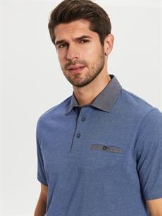 Erkek Polo Yaka Penye Tişört
